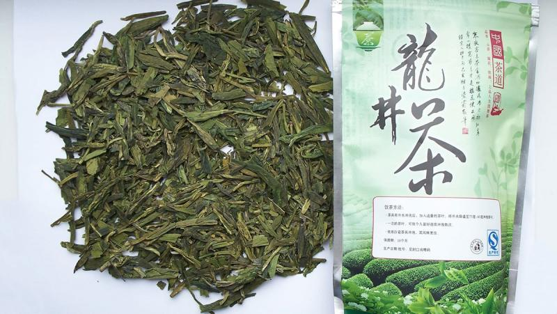 Китайский зеленый чай Longjing Колодец Дракона